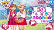 Permainan Frozen Elsa and Anna Easter Fun - Play Games Frozen Elsa and Anna Easter Fun