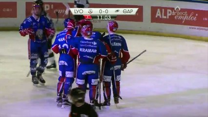 Saxoprint Ligue Magnus: LHC Les Lions vs. Rapaces de Gap - 22-01-2017