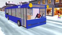 Ironman Мультфильмы Колеса на автобусе Go Round And Round детей потешки для детей