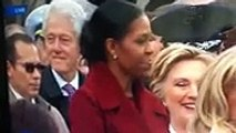 Hillary Clinton Appears To Catch Bill Clinton Checking Out Ivanka Trump At Inauguration