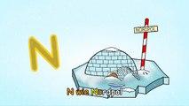 Das Deutsche Alphabet-Lied - das N-LIED - Deutsch lernen für Anfänger, Kleinkinder und Ausländer-rINM7RpwTmY