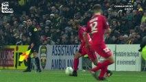 Le somptueux dribble de Lucas contre Nantes