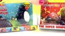 Surprise Santa Egg, Star Wars, Snowman Egg, Pooping Reindeer!!! Waddling Penguin Pooper Lots of Toys