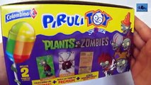 3 Surprise Lollipops (Pirulitoy) Plants vs Zombies-3 Colombinas Sorpresa Pirulitoy Plantas vs Zombis