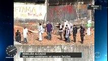 Polícia constrói muro para separar presos de facções rivais em presídio do RN