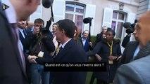Après le retrait de François Hollande, les regards braqués sur Valls-NJglv4LiRC4