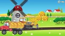 Carros Para Niños - Camión - Dibujo animado de carros - Camiónes infantiles - Videos para niños