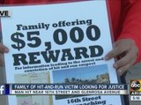 Family offering 5K reward for information after man involved in hit-and-run