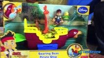 Гигантское яйцо сюрприз открываем игрушки Дисней Джейк и neverland Пираты Киндер яйца детям видео