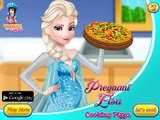 Pregnant Elsa Cooking Pizza: Disney princess Frozen - Best Baby Games For Girls