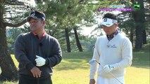 ゴルフ宮里道場PREMIUM 「ゲームの決断」 片岡大育 プログリーン奥からのアプローチとパッティング