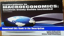 Download [PDF] Explorations in Macroeconomics: Student Study Guide Included (Explorations in