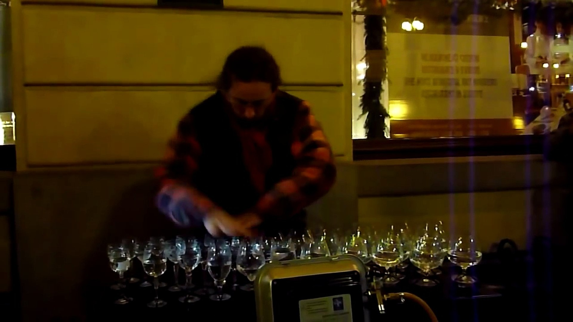 Street Musician Amazing - Playing Music with Glasses - Music Video | Street Song Artist