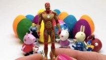 Play Doh Eggs Peppa Pig Toys Peppa Pig Surprise Eggs Peppa Pig and Friends Surprise Eggs