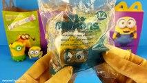 Minions McDonalds Happy Meal Toys Minion Toys Bob Stuart Kevin new Minions Movie Toys