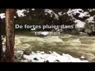 Vidéo : Intempéries, de fortes pluies s'abattent sur la Corse depuis cette nuit