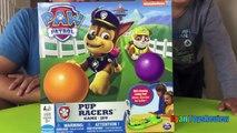 Paw патруль щенок гонщиков семья забавная игра для детей яйцо сюрприз игрушки Чейз Nickeloden Райан ToysReview