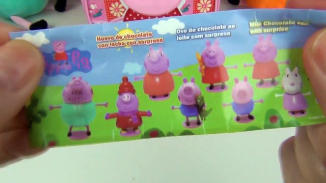 Peppa Pig Lunch Bag Lunchbox Peggy Pig Doll George Doll Surprise Box Toys and Videos for Disney Kids