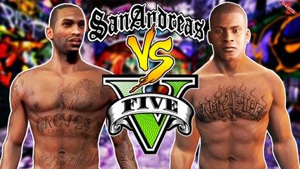 GTA 5 vs. GTA SA! - Comparando Jogabilidade, Funções, Customizações...