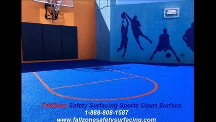 Jupiter Florida Playground Surfacing FallZone Sports Court