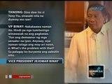 Saksi: VP Binay: Lumang alegasyon na ang mga umano'y mamahaling ari-arian