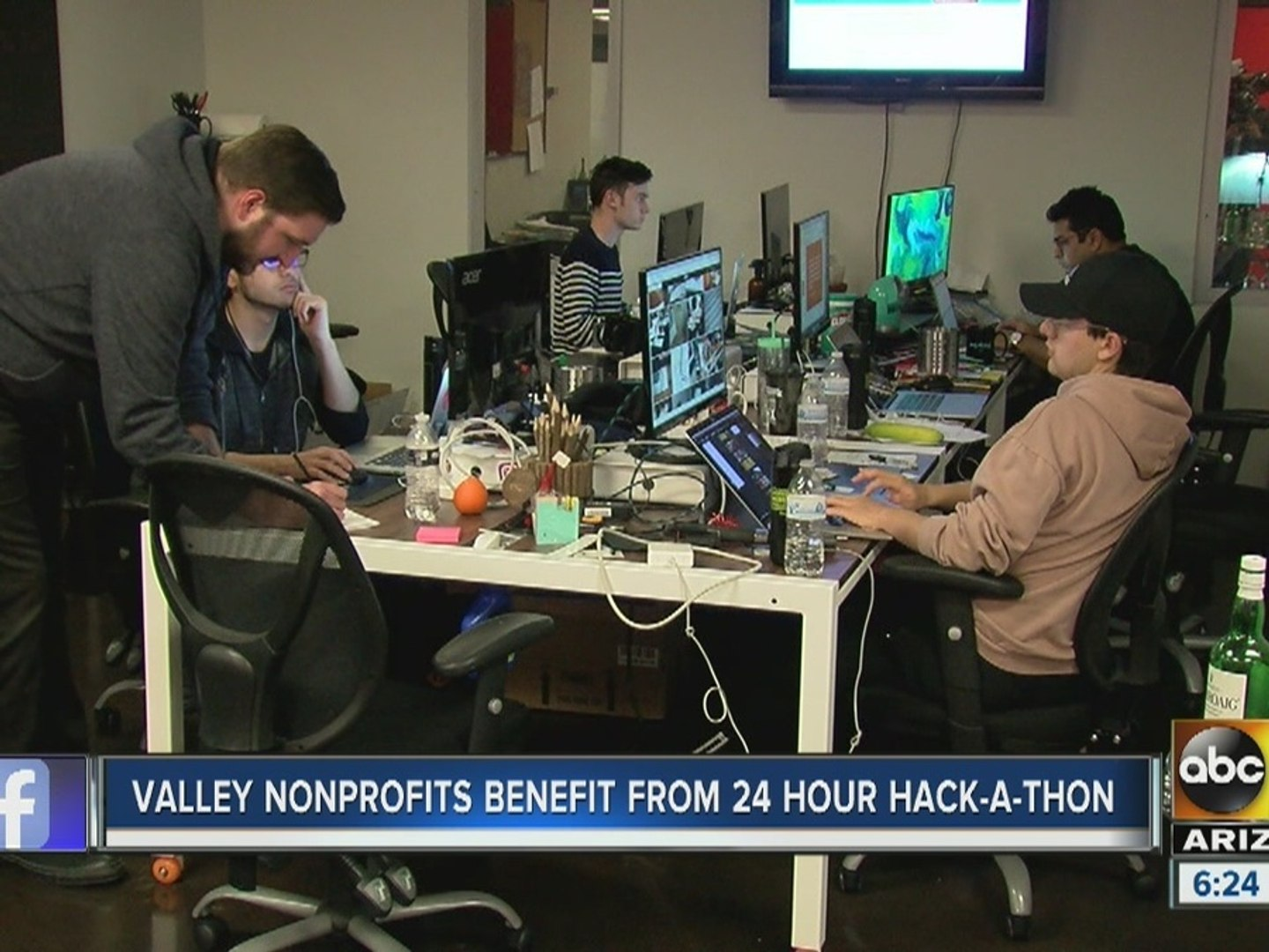 Valley non-profits benefit from 24-hour hack-a-thon in Phoenix
