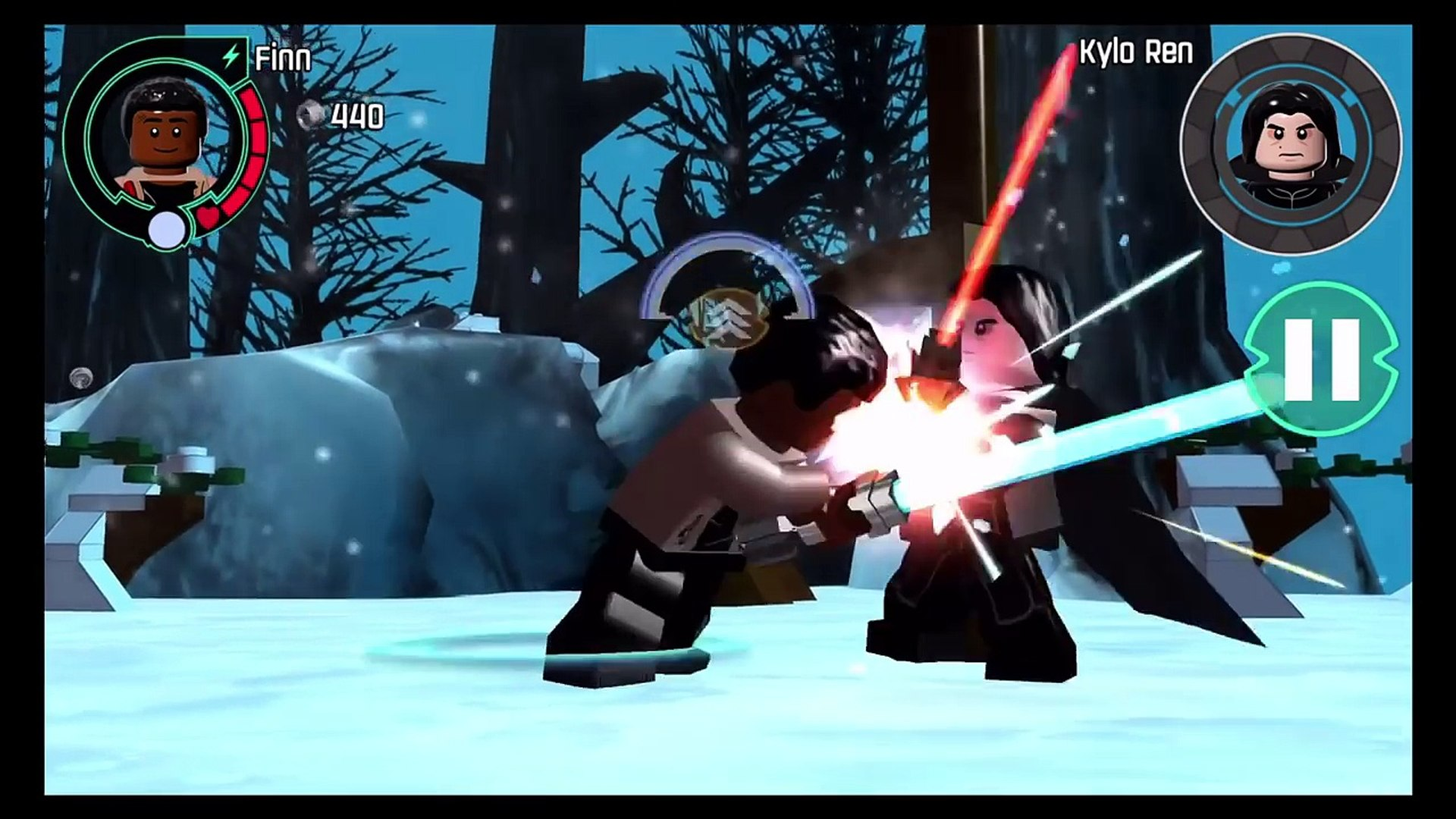 Lego Star Wars The Force Awakens How To Unlock Unmasked Kylo Ren Ios Android Video Dailymotion