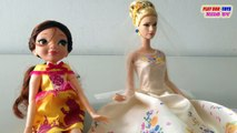 Disney Dolls: CINDERELLA WEDDING DAY & Fortune Days: Belle Doll - Collection Toys Video For Kids