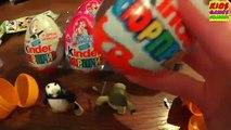 Kinder Surprise Kung fu Panda 3, Kinder Surprise Eggs Kung fu Panda