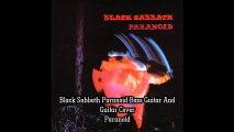 Black Sabbath Paranoid Guitar and Bass Guitar Cover