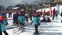Hautes-Alpes : Grand succès pour la course de ski en hommage à Eléna Nolier à Orcières