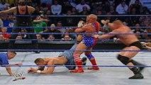 Brock Lesnar and John Cena vs Undertaker and Kurt Angle Full Match - WWE SmackDown 2003