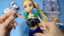 FROZEN - Elsa y Anna muñecas - Hermoso y perfecto - Frozen Elsa & Anna bonecas - Lindas e perfeitas