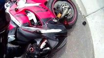 75 MPH Motorcycle Crash Helmet Cam