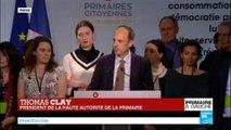 Primaire de la gauche : Benoit Hamon en tête avec 35,21%, Manuel Valls 2e avec 31,56%