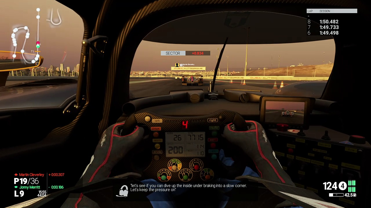 Project CARS – Overtake Two Cars