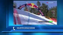 Coupe du monde de Kitzbühel : La réaction de Giraud Moine 2e de la descente