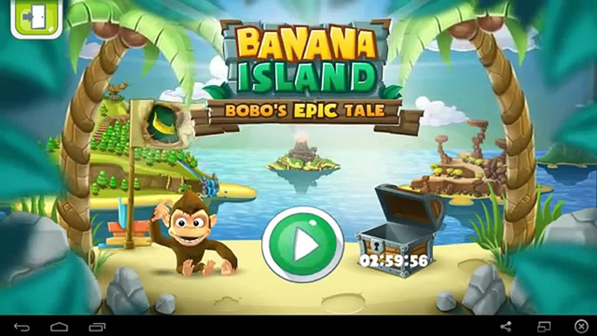Banana Island–Bobos Epic Tale - for Android GamePlay