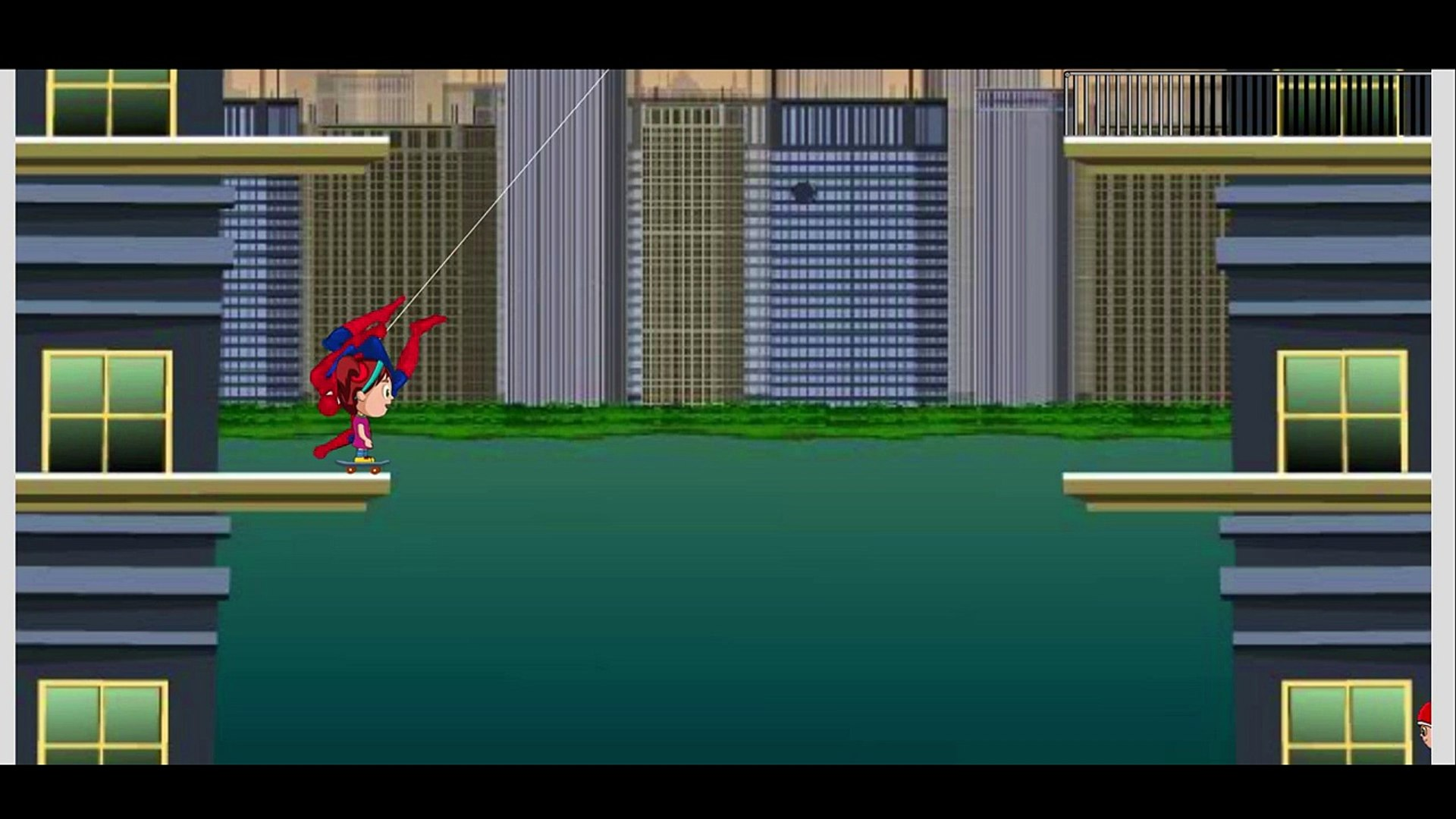 Spider-man saves children and having fun HD(Songs for Children with Action)