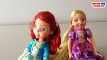 Fortune Days Dolls Toy : Menida Doll & Rapunzel Doll | Toys Collection Video For Kids