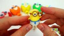 Play Doh Lollipop Surprise Toys for Kids Doc McStuffins Spongebob MLP Paw Patrol