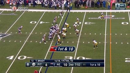 Um belo flea flicker derrubou defesa do Steelers