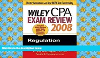 Read Book Wiley CPA Exam Review 2008: Regulation (Wiley CPA Examination Review: Regulation) O. Ray
