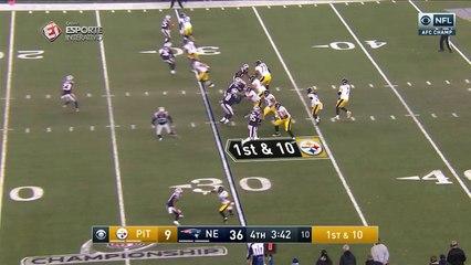 Cobi Hamilton anota o touchdown para diminuir o passeio