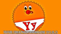 Alphabet Song with Uppercase and lower case Letter Y to teach and learn ABCs