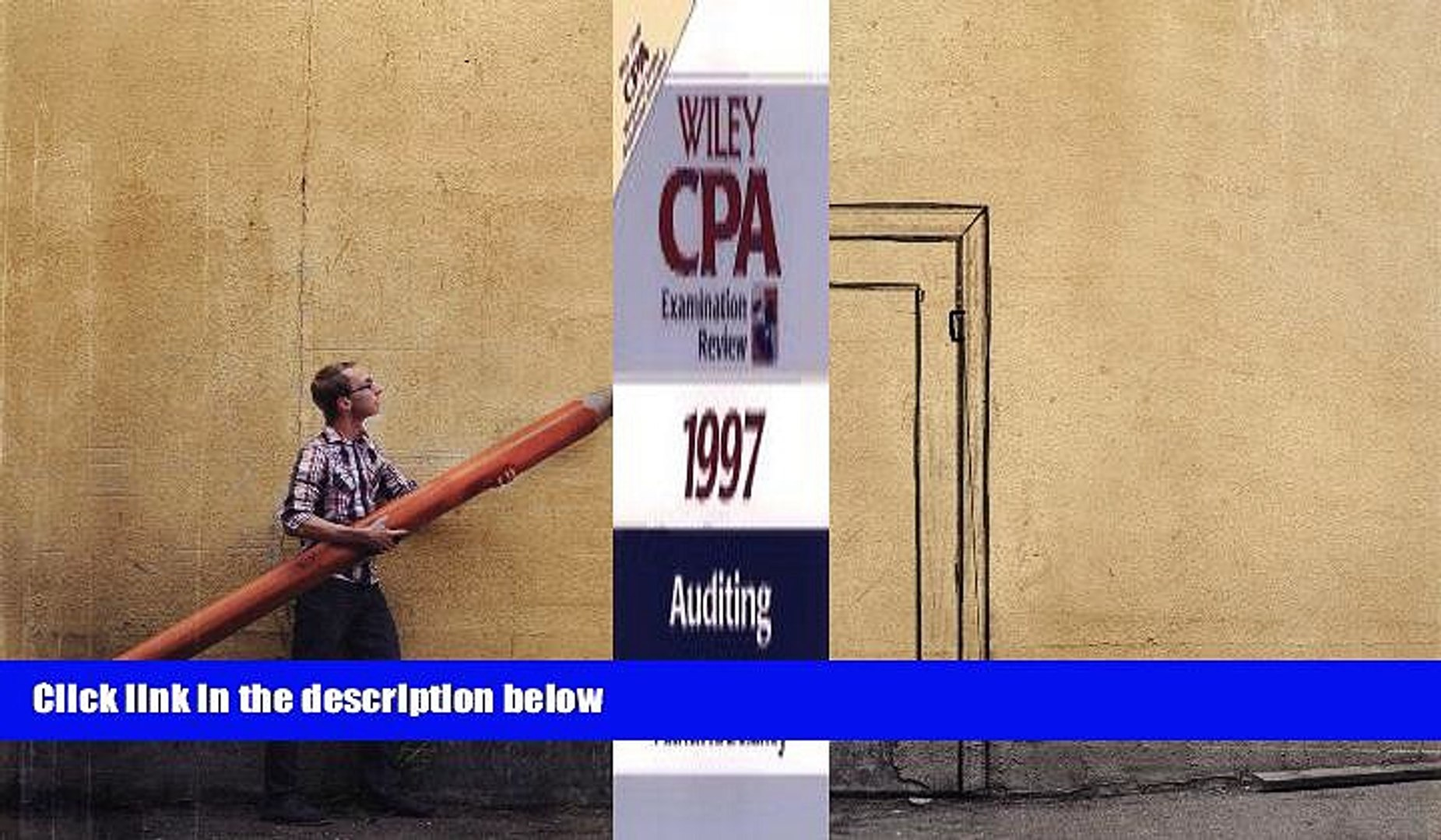 Read Book Auditing 1997 (Wiley Cpa Examination Review 1997) Patrick R. Delaney  For Kindle