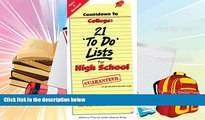 Download Countdown to College: 21 To Do Lists for High School: Step-By-Step Strategies for 9th,