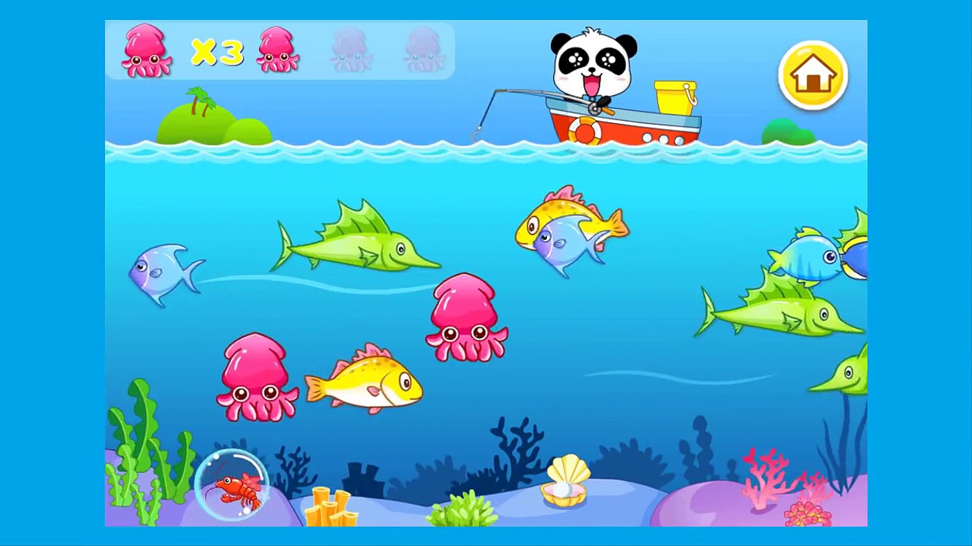 My Numbers by Panda l Kids learn Numbers with Panda, Education App for kids YouTube 720p