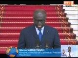 Lex Président Burkinabé Blaise COMPAORE est en Cote dIvoire