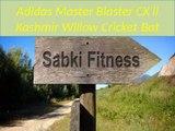 Adidas Master Blaster CX ll Kashmir Willow Cricket Bat - sabkifitness.com